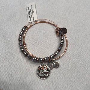 NWT Alex and Ani bracelet double strand